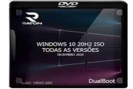 Windows 10 20H2 pt-BR Todas as Versões DUALBOOT Dez 2020