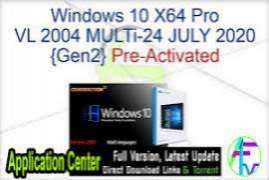 Windows 10 X64 Pro VL incl Office 2019 pt-BR AUG 2020 {Gen2}